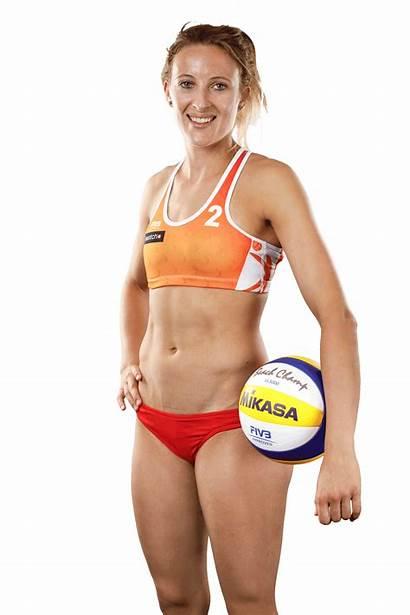 Van Volleyball Sophie Players Beach Hottest Gestel