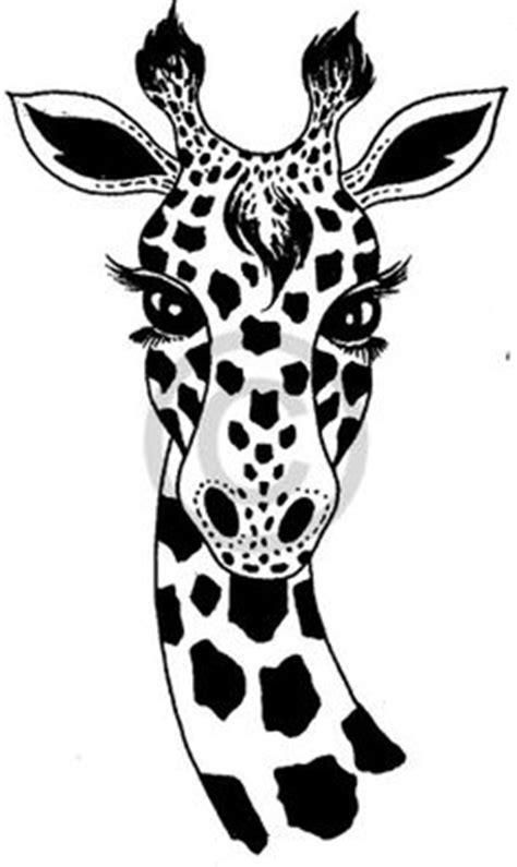 tribal giraffe tattoo design  body   canvas