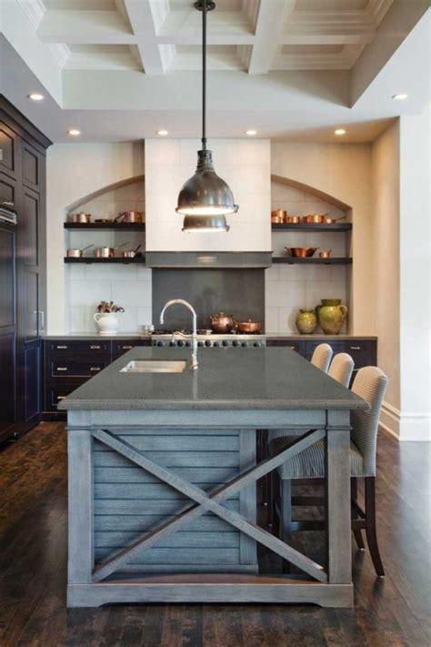 fabriquer un ilot de cuisine en bois fabriquer un îlot de cuisine 35 idées de design créatives