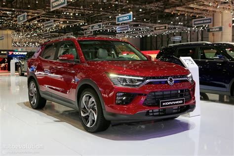 SsangYong Steps Up Its Game With All-New Korando In Geneva ...