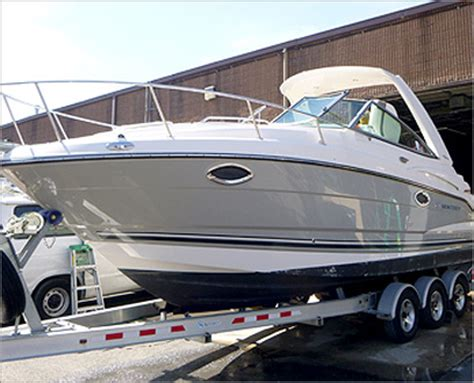 Boat Detailing by A2zcarwash Marine Detailing