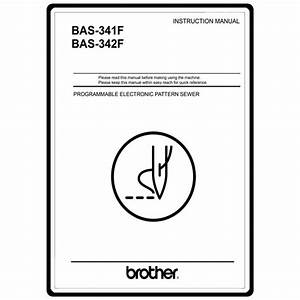 Brother Bas 341f Repair Service Manual User Guides