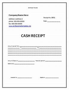 cash payment receipt template samples vlashed With receipt of funds template