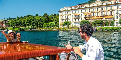 Fast Boat Bellagio To Como by Fast And Fashion Tour Lake Como By Boat Tour