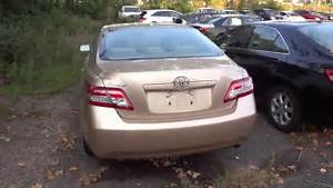 2010 Toyota Camry Le 4 Cyl Quick Tour  Engine  Overview