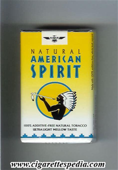 american spirit lights american spirit ultra light mellow taste ks 20 s