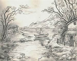 Beautiful Pencil Sketches Of Landscapes - Drawing Of Sketch