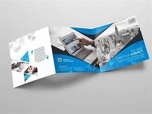 Square, Tri-fold, Business, Brochure, Template