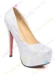 chaussures dorã es mariage chaussures blanches mariée