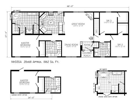 ranch style house plans  open floor plan ranch house