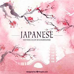Japanese watercolor background japanese watercolor ...