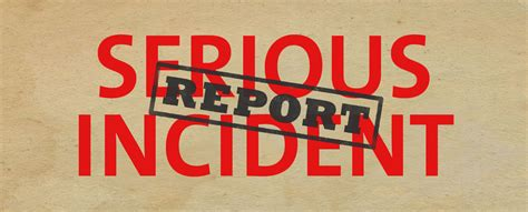 Serious Incident Reporting  Anne Taylor