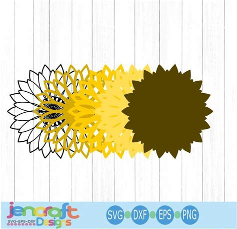 Check out our svg layered mandala selection for the very best in unique or custom, handmade pieces from our digital shops. Sunflower SVG 3D Mandala Layered Mandala svg Cricut | Etsy