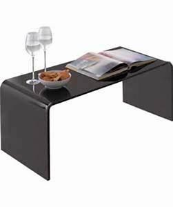 hygena mistral coffee table black acrylic review With black acrylic coffee table
