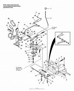 Simplicity 1693080 - Regent  14hp Hydro Parts Diagram For Control Linkage Group