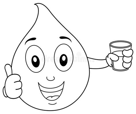water drop coloring page  images  water drop