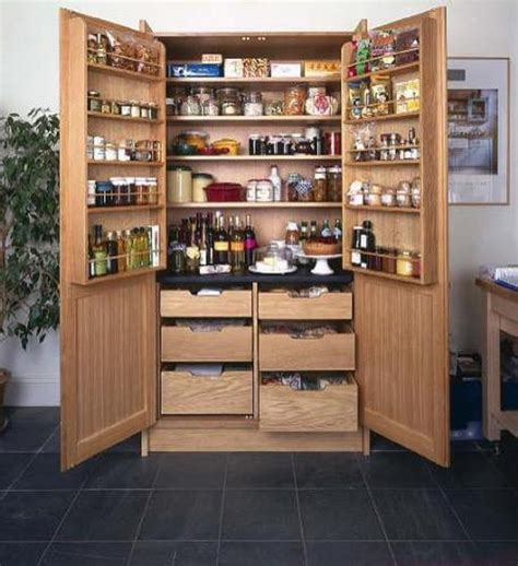 standing kitchen pantry cabinet home furniture design