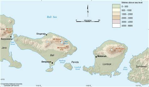bali  lombok cartogis services maps  anu
