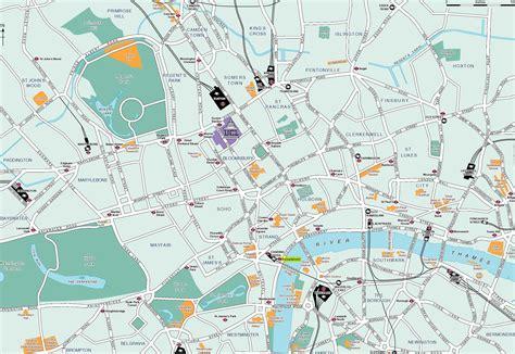 london map detailed city  metro maps  london