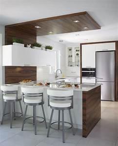 armoires de cuisine contemporaine en merisier et bois de With armoire de salle de bain bois