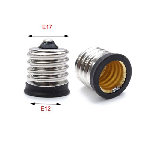 buy e17 to e12 socket holder led l bulb base converter