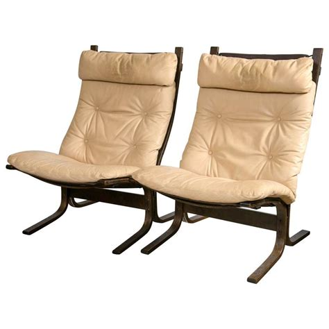pair of westnofa quot siesta quot lounge chairs by ingmar relling