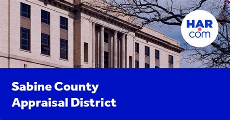 sabine county appraisal district  county tax