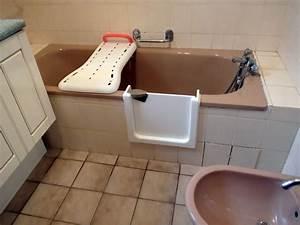 Porte Pour Baignoire : baignoire avec porte tanche 100 le bain s curit ~ Premium-room.com Idées de Décoration