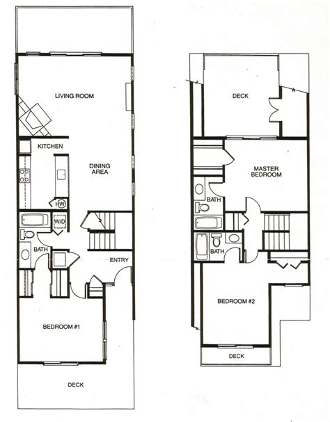 cheap 4 bedroom houses 3 bedroom condo floor plans pictures three townhouse with