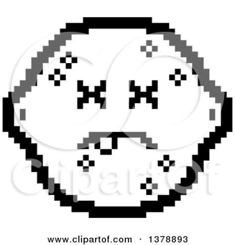 bit clipart black and white royalty free rf 8bit lemon clipart illustrations