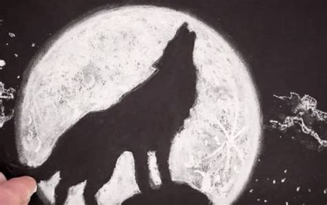 wolf moon full wolf moon