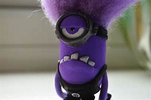 Despicable Me 2 Evil Purple Minion Clay Sculpt by dcX1991 ...