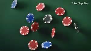 blender falling poker chips test youtube