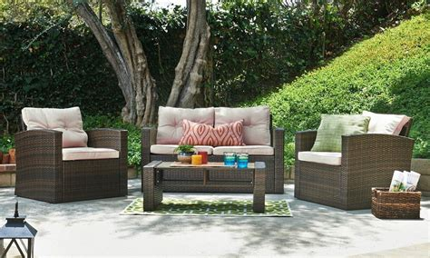 Backyard Patio Furniture by How To Properly Maintain Patio Furniture Overstock