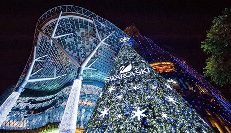 Swarovski Inaugurates First Outdoor Christmas Tree In