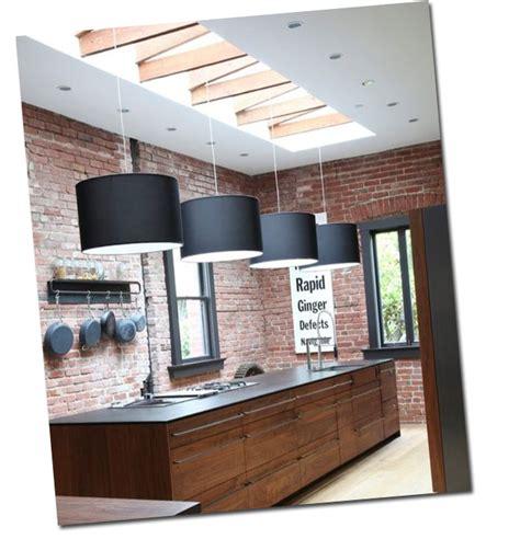 mur en cuisine cuisine avec un mur de briques