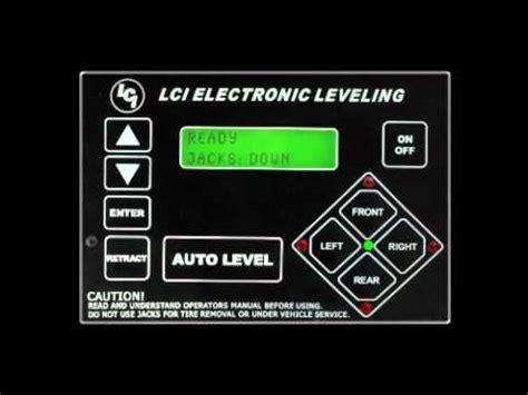 lippert leveling system youtube