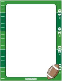 Free Printable Football Clip Art Borders