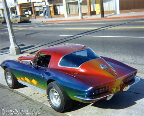 rainbow cars larry watson rainbows custom car chroniclecustom car