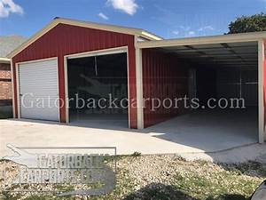 Lean To Carports Lean To Garages Gatorback CarPorts