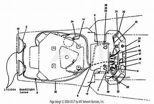 Troy Bilt 13065 14hp Hydro Suburban Tractor  S  N