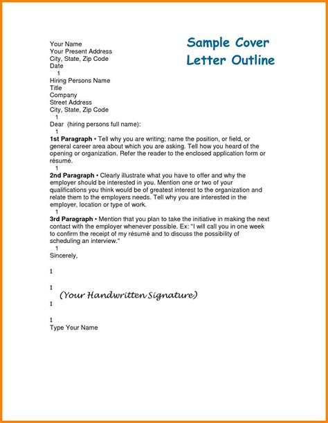 Cover Letter Introduction by 4 Letter Of Introduction Outline Introduction Letter