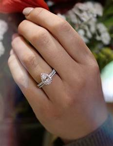 25 best ideas about pear engagement rings on pinterest for Wedding bands for pear shaped rings
