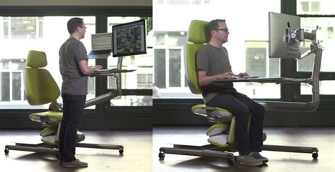 sit stand lay desk altwork station wants you to lie down and work in extreme