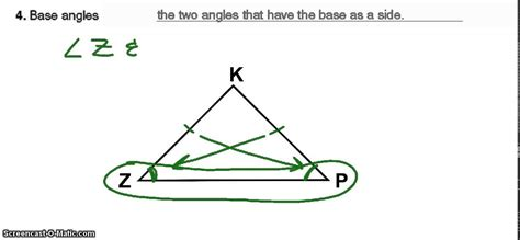 Notes 4 6  Isosceles And Equilateral Triangles Youtube
