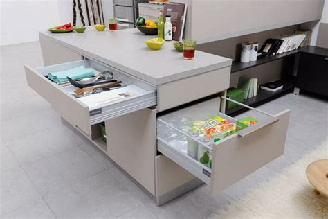 cuisine taupe mat smart kitchen storage ideas for small spaces stylish