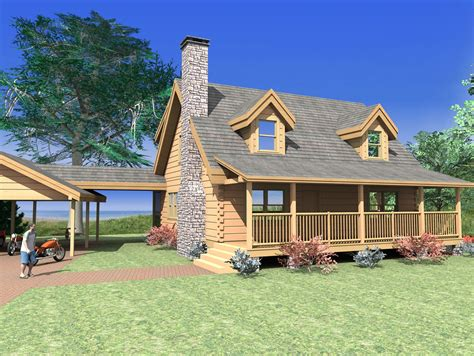 Log Home Plans From 1,500 To 2,000 Sq. Ft.