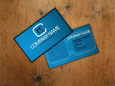 attractive business card psd templates creative