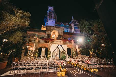tower  terror courtyard disneys hollywood studios fairytale weddings guide
