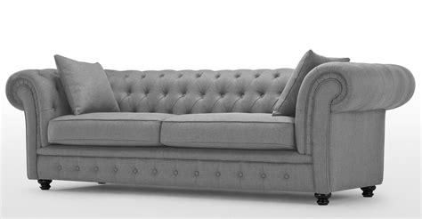 cloud 7 sofa upholstered in shimmering silver grey velour chesterfield sofa gray sofa menzilperde